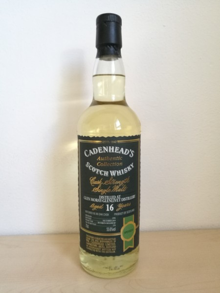 Glen Moray 16y Cadenhead's