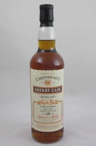 Clynelish 19y Sherry Wood Cadenhead's