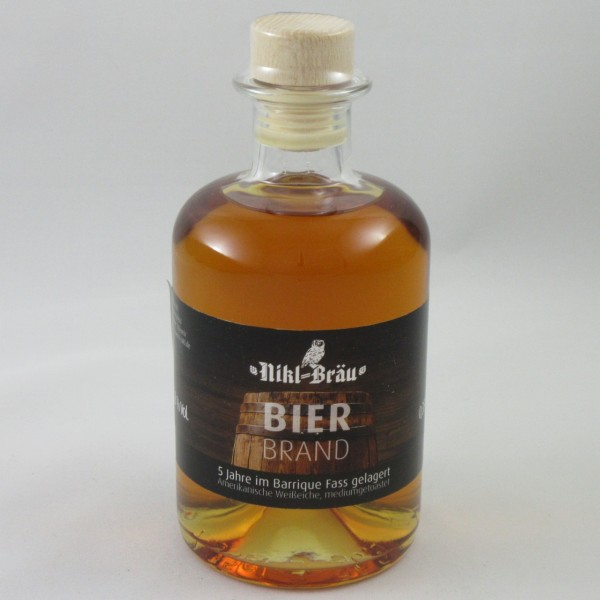Bockbierbrand Barrique gereift Nikl-Bräu