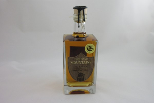 Mc Raven Thousand Mountains Single Malt Whisky 0,7 L