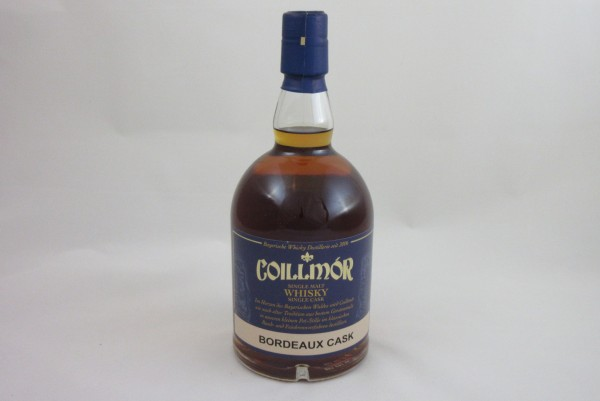 Coillmor Single Malt Whisky Bordeaux Fass, 6 Jahre alt